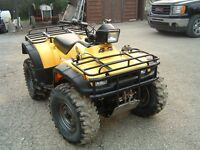 Great condition Honda Foreman 450s 4x4