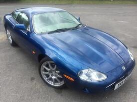 JAGUAR XK8 4.0 AUTOMATIC FULL LEATHER SEATS CD AIR CON 1 YEAR MOT COUPE 1998