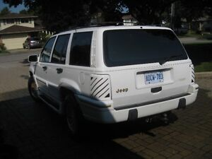 1994 Jeep Grand Cherokee Limited SUV, Crossover