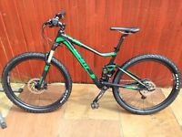 Giant stance 2 2016 full suspension mountain bike / bicycle like new!