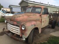 1950 gmc complete truck with engine and transmission