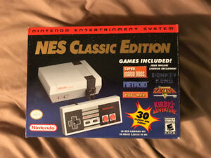 Selling Mint Condition NES Classic + Controller
