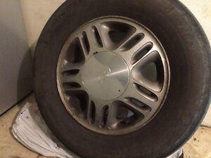 Set of 4 used Factory allow rims- Chevy Venture