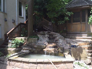 New Pond Install / New Water Feature Install London Ontario image 5