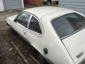 Mercury Bobcat / Ford pinto Project Car