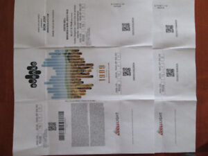 Bon Jovi rouge section 115 Paire de billets un rabais de $125.00