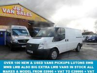2013 13 FORD TRANSIT 2.2 280 LR LOW ROOF 1 OWNER RARE 6 DOOR MODEL ( JSVANS .CO.