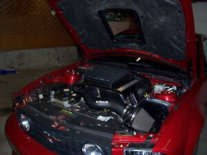 Ford Mustang 05-09 GT Shaker Engine Cover and Hood