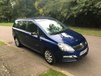 VAUXHALL ZAFIRA CLUB 1.6 2006 7 SEATER FIVE SPEED 120k BARGAIN