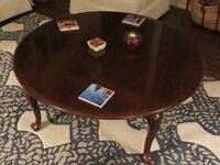 Gibbard Solid Cherry Round Coffee table