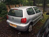 X reg Volkswagen polo 1.4 petrol 3 door