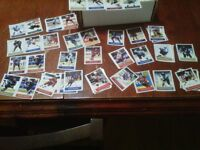 I huge lot of 2003 - 2004 Sports Vault NHL hockey stickers