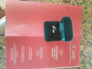 Custom made engagement ring for sale