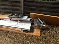 Free kitchen solid wood work top sink, hob