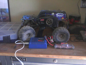 Traxxas monster truck 2wd