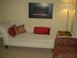 Furnished basement suite for single professional