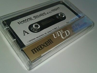 CASSETTE TOPSTONE 5030 HORROR SOUNDS OF THE NIGHT RARE HALLOWEEN MAXWELL UDIICD (Halloween Sounds Of The Night)