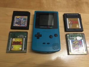 Gameboy Colour + Games For Sale