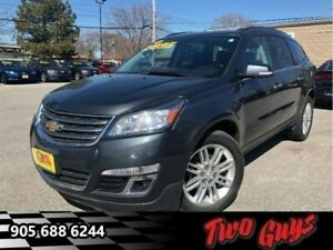 2014 Chevrolet Traverse 1LT AWD | DVD| 7 Pass |Htd Seat | Woodgr