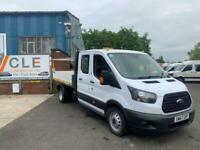 2017 67 Ford Transit Tipper Double Cab130ps EURO 6