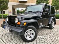 2003 Jeep Wrangler 4.0 Sahara Hard Top 4x4 3dr