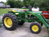 John Deere 1120 Tractor and Loader