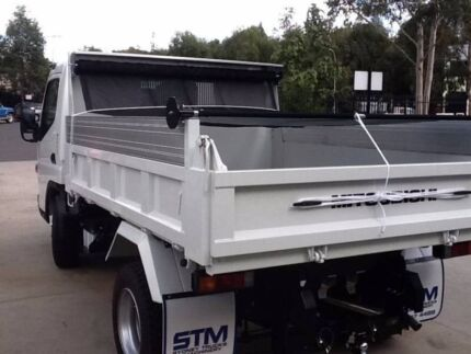 TRUCK TARP - RETRACTABLE BLIND KITS FOR TIPPERS
