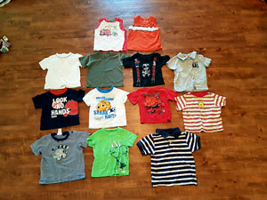 Boys t-shirts size 9 months up to 12 months