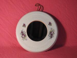 Small round decorative mirror