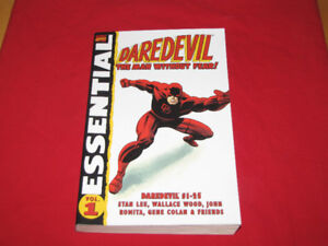 Soft cover, Marvel Daredevil Essential Vol. 1 (Issues 1-25)