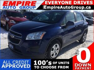 2014 CHEVROLET TRAX LS * ONE OWNER * POWER GROUP * LOW KM
