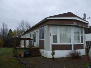 Mobile Home With Nice Big Backyard!