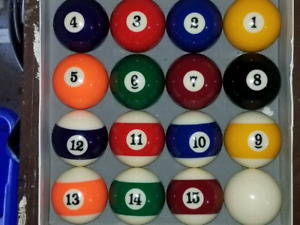 Billiard Balls Full Set NEVER USED