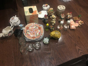Collectibles - variety of small household items