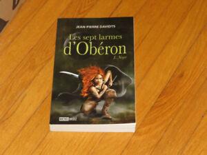 JEAN-PIERRE   DAVIDTS   --- LES SEPT    LARMES D'OBÉRON