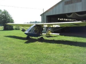 Ultralight Chinook Plus 2 /  swap for sled or certified Vette.