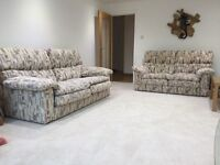 Collins and Hayes sofa / couch. 2 piece suite