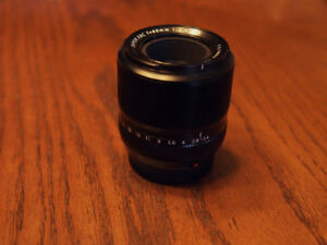Fuji 60mm f2.4 macro lens in perfect condition.