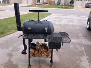 Custom built offset smoker