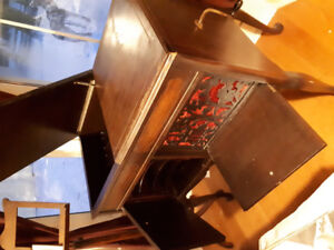 Gramophone/record player cabinet/storage, buffet style-Working