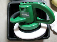 TURTLEWAX CAR WAXER/ POLISHER WITH EXTRA ACCESSORIES