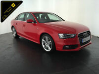 2013 AUDI A4 S LINE TDI 4 DOOR SALOON 1 OWNER AUDI SERVICE HISTORY FINANCE PX