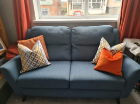 Sofas and foot stool