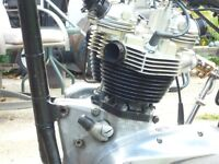 Wanted 1968 and Up 650cc Triumph Motorcycle Engine/Parts