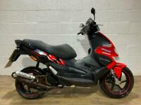 Gilera Runner SP 50 2009 GREAT RUNNING SCOOTER NEW MOT WATER COOLED RACE PIPE