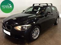 £180.60 PER MONTH BLACK 2012 BMW 116D 1.6 EFFICIENTDYNAMICS 5 DOOR DIESEL MANUAL
