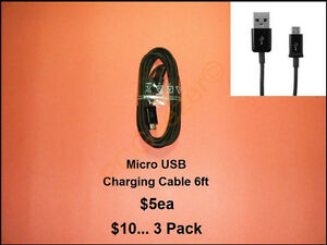 USB Charging Cables 3ft 6ft – OTG Adapters