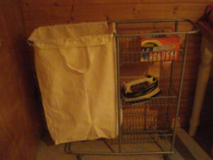 Laundry Cart with wash bag