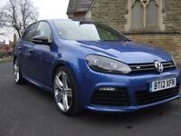 12 Volkswagen Golf R 2.0 TSI 270ps DSG AUTO 5 DOOR BLUE 4X4 4 MOTION