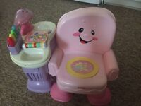 Fisher price activity toy chair